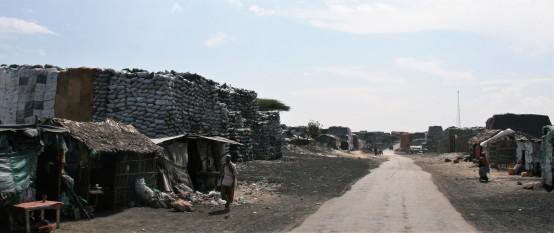 Kismayo - charcoal